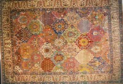 Bijar tappeti persiani antiquario rimini - Tappeti persiani antichi ...